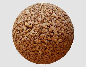 3D model Buckwheat Groats PBR Texture