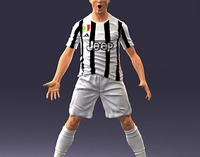 Soccer player 1123 3D Print Ready