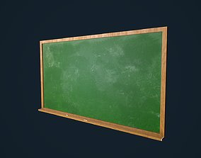 3D model low-poly ChalkBoard