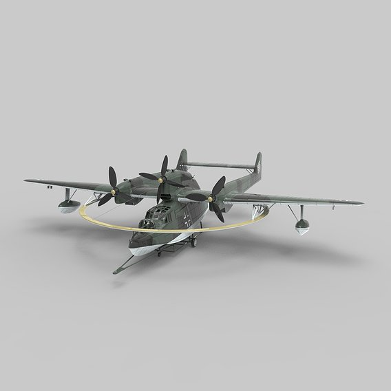 German Aircraft BV 138 MS - Minesweeping