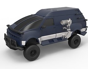 Diecast model RV from Hell from Tango and Cash Scale 1 1
