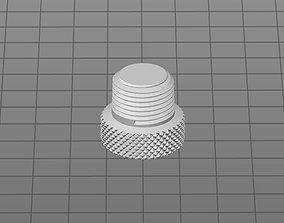 3D print model 3 8 inch male cap