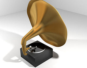 Phonograph - Type 1 3D model