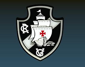 Vasco da Gama Regatta Club Emblem 3D model