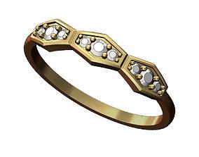 3D printable model Diamond anniversary Ring