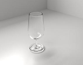 white 3D Beer Glass