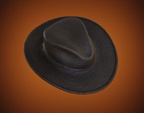 Cowboy Hat fashion 3D asset realtime