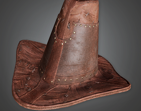 3D model Witch Hunter Hat - HAT - PBR Game Ready