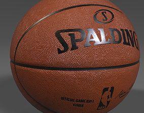 3D model NBA Spalding Official Game Ball
