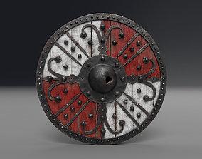 3D model AAA Medieval Viking Shield