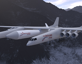 3D model Strato Launch Systems