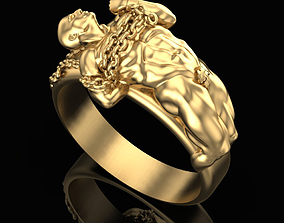 Ring Tearing the Shackles 3D print model
