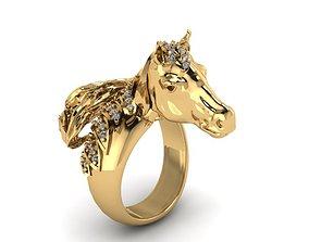 arabian horse ring 3D print model
