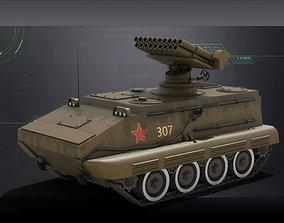 3D 19-barrel self-propelled Gun type 70 self-Rocket Gun