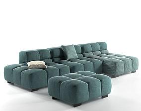 Tufty Time Sofa 3D pillow