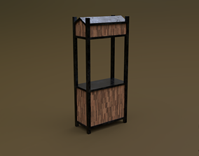 3D model Trade stand 06 R