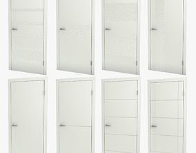 3D Modern interior doors 01