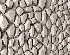 3D Polygon decorative panel polygon