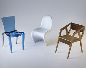 3D Designer chairs