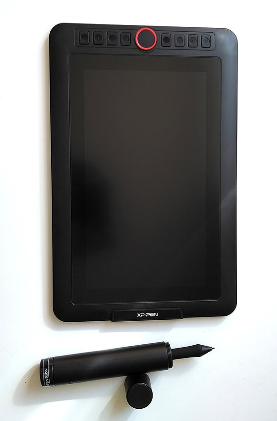 XP-Pen Artist 12 Pro drawing tablet with screen