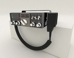 TRC-427 Citizens Band Radio 3D