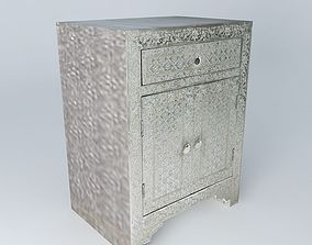 JAIPUR nightstand houses the world 3D