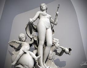 Fountain of Venus 3D model