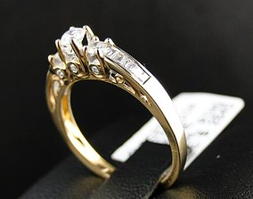 3D print model The Diomand Ring