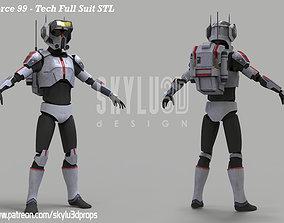 Clone Force 99 Tech Full Armor 3D print ready STL