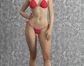 3D bikini girl