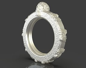 3D print model Jewelry Skull Ring urban
