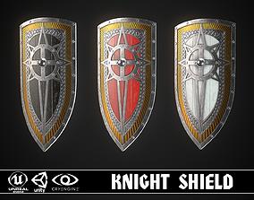 3D model Knight Shield 06