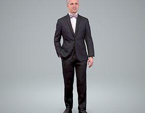 3D model Standing Classic Business Man
