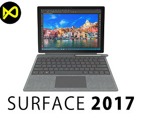 Microsoft Surface Pro 2017 3D