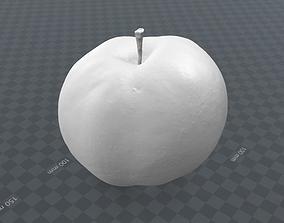 apple -3- scanned 3d model nature