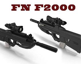 FN F2000 3D