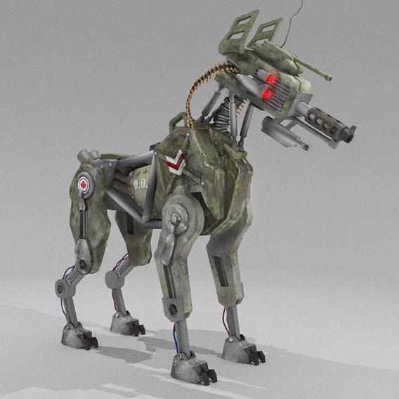 D.O.G. 51 - Military robot