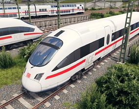 3D asset Deutsche Bahn ICE T