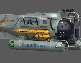 3D asset exploration submarine