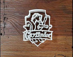 3D print model CC156 Gryffindor House Harry Potter