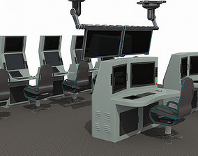 3D model OPERATION AND COMMAND CENTER
