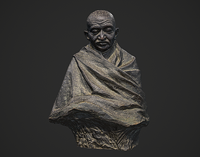 3D asset Gandhi by Claire Sheridan