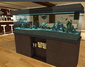 Aquarium fish 3D model low-poly