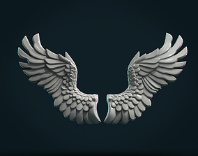 Wings Relief 3D print model