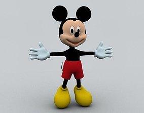3D model Mickey