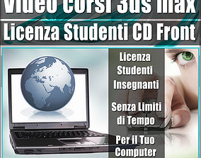 Licenza Studenti Docenti Corsi CD Front 3D