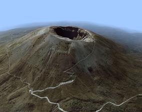 3D Volcano Mountains - Mount Vesuvius