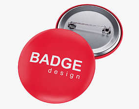 3D Badge Pin