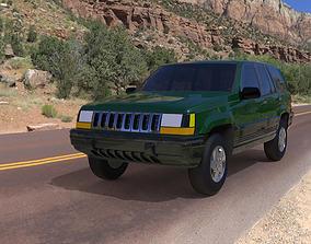 Jeep Grand Cherokee 94 3D