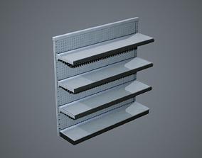 3D model Industrial Store Shelving Units